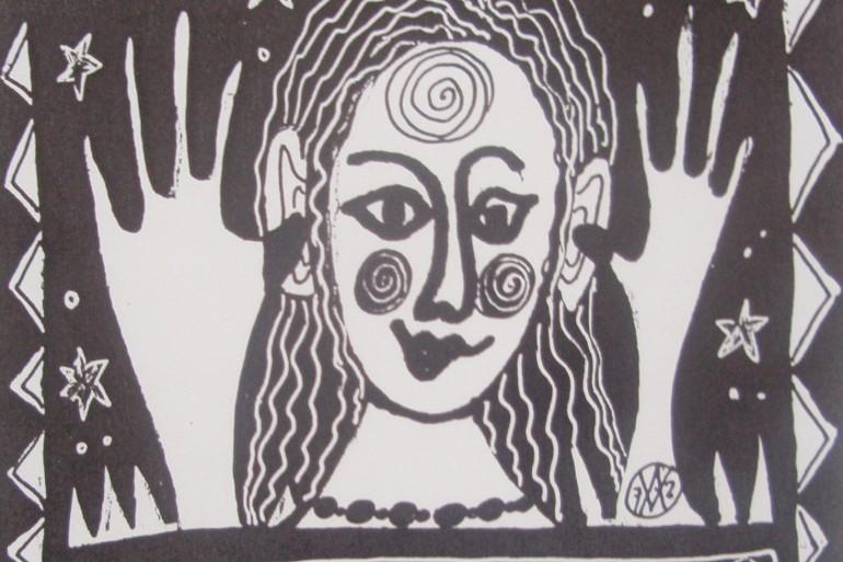 Anne Vellinga pentekening