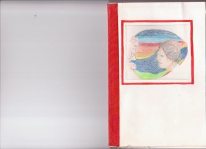 voorkant boekje dat Aaltje Kolman voor haar moeder maakte