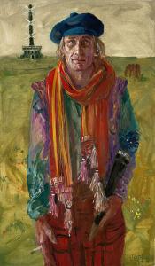Aja Waalwijk - portret van Henny Van der Vegt