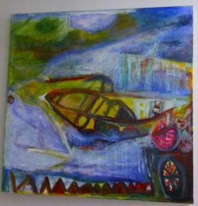 Ali Kolman - de boot naar de andere kant - aug.2008