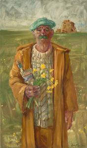 Theo Kley - portret van Henny Van der Vegt