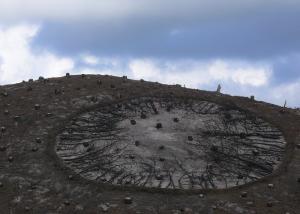 Cochius & Hempe 'Brandpunt' in de verbrande duinen bij Schoorl