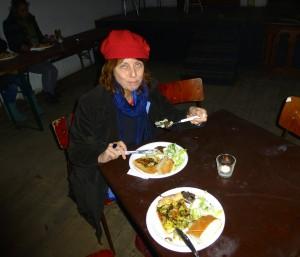 Ruigoord - heerlijk eten in het kerkje