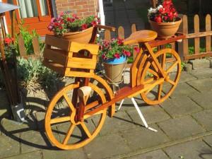 Willem Lommert - houten fiets
