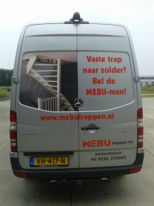 bedrijfswagen van de Mebuman
