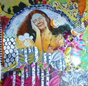 Melancholia Collage - Anne Vellinga