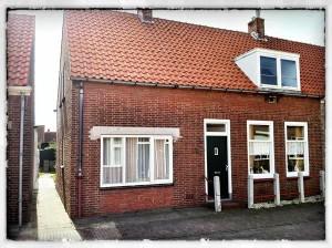 het huisje in Westkapelle waar wij woonden foto Marco Vellinga