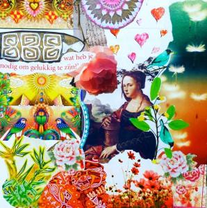 Anne Vellinga - collage wat heb je nodig om gelukkig te zijn?