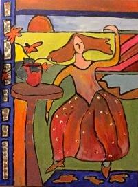 Joa Happy - vrij naar Matisse