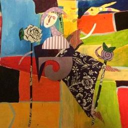 Joa Happy - naar Matisse