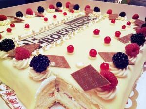 taart van