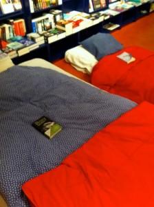 De Nieuwe Boekwinkel als sleep-in