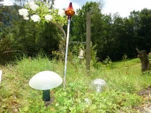 dag mijn glazen paddenstoelen