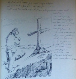 dagboekillustratie Aaltje Kolman