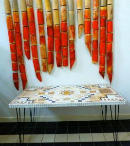 mozaïek - Anne Vellinga keramiek - Kees Borst