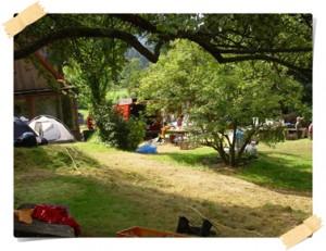 camping bij Angelica van de Aueralm in Bischofsgrün