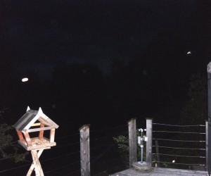 de nacht boven Warmensteinach